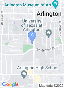 University of Texas map