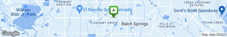 Map of Braum's Ice Cream & Dairy Stores