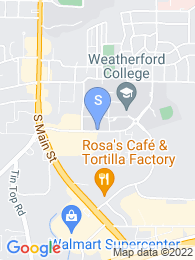 Weatherford College map