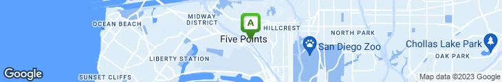 Map of EL Indio Mexican Restaurant