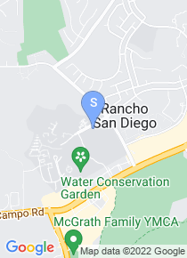 Cuyamaca College map