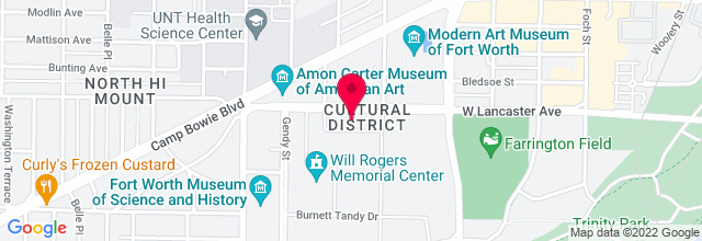 Map for Will Rogers Memorial Center