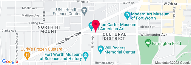 Map for Will Rogers Coliseum Auditorium