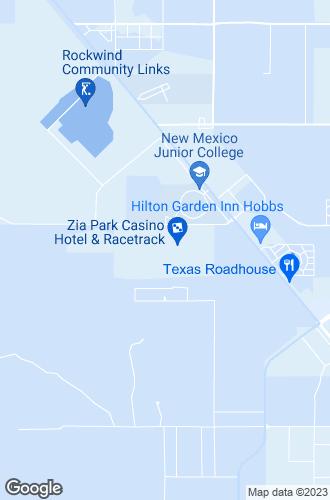 Map of Hobbs