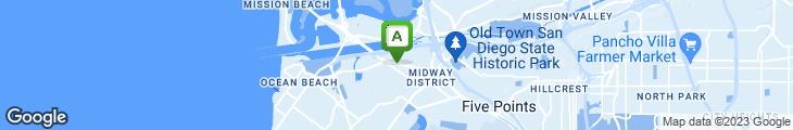 Map of Village Inn