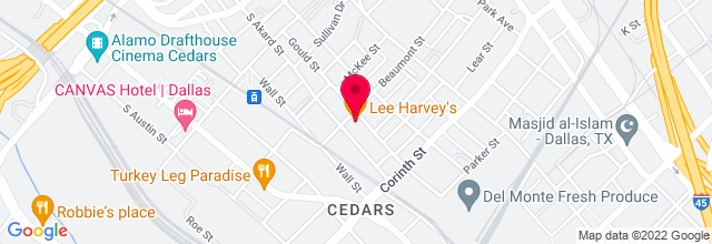 Map for Lee Harvey's