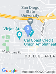 San Diego State map