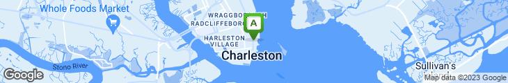 Map of Robert's of Charleston