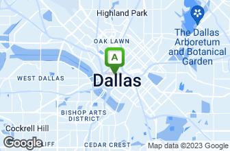Map of Dallas Fish Market