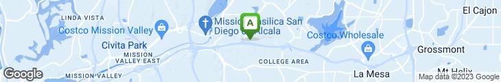 Map of Nicolosi's Italian Restaurant
