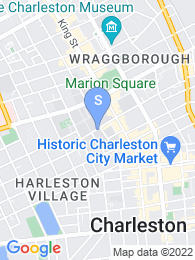 College of Charleston map