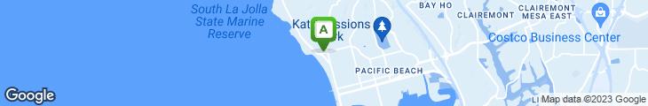 Map of Pernicano's Of La Jolla