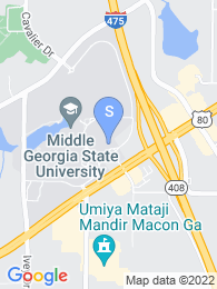 Macon State College map