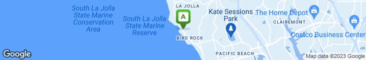 Map of Voce del Mare