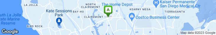 Map of Boston Market