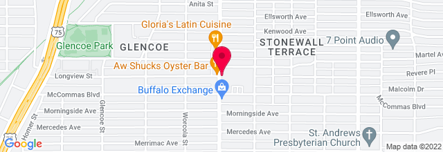 Map for Granada Theater