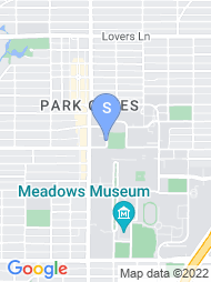 Southern Methodist University map