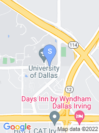 University of Dallas map