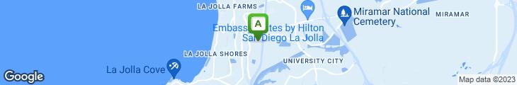 Map of Daphne's Greek Cafe