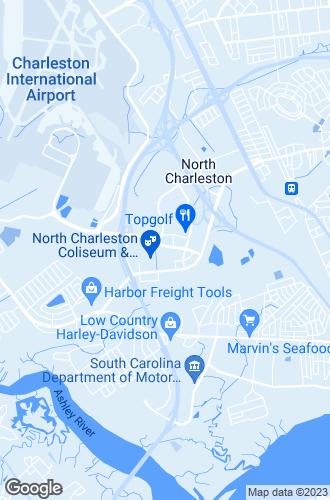 Map of North Charleston