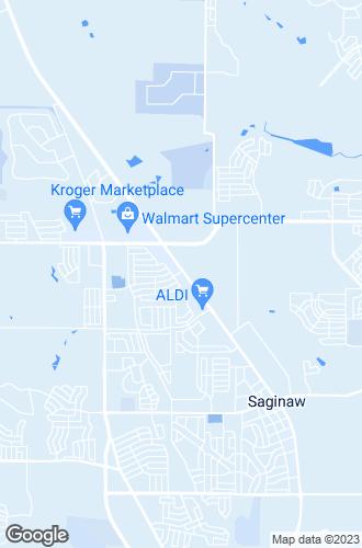 Map of Saginaw