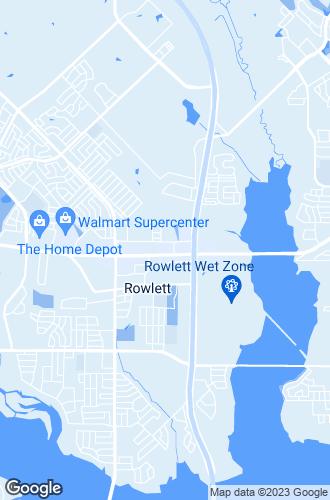 Map of Rowlett