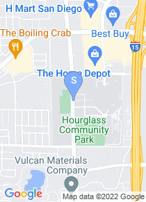 San Diego Miramar College map
