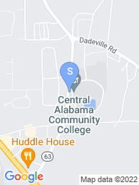 Central Alabama Community College map