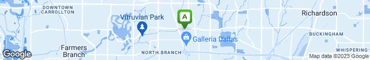 Map of Atlanta Bread Company