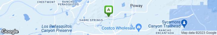 Map of Filippi's Pizza Grotto