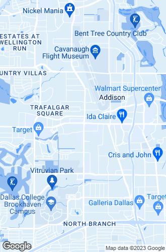 Map of Addison