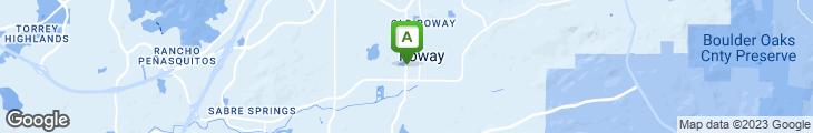 Map of Taco Taco Poway