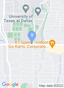 UT Dallas map