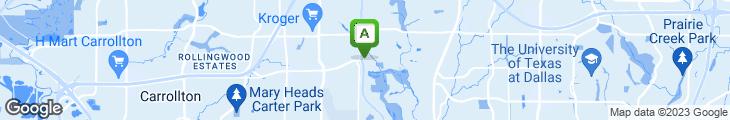 Map of Maguire's North Dallas