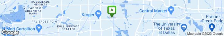 Map of Pappadeaux
