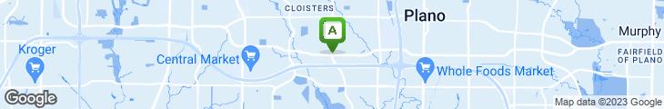 Map of Sushi Sakana