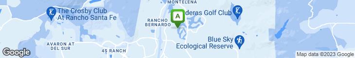 Map of El Bizcocho - Rancho Bernardo Inn