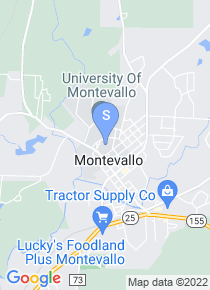 University of Montevallo map