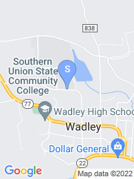 Southern Union State Community College map