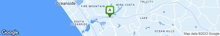 Map of Pat & Oscar's Restaurants