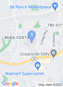 MiraCosta College map