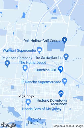 Map of Mckinney