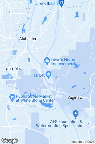 Map of Alabaster