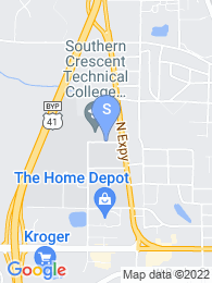 Southern Crescent Technical College map