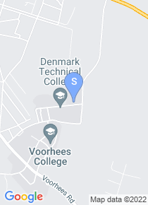 Denmark Technical College map