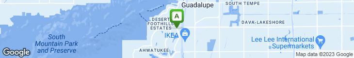 Map of Matthew's Restaurant
