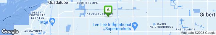 Map of Longhitano's Restaurant