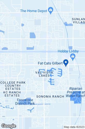Map of Mesa