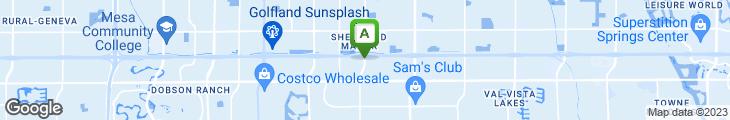 Map of McGrath's Fish House