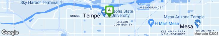 Map of Chompie's Restaurant